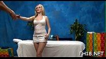 Sexy hot playgirl copulates and sucks her massage therapist - Download mp4 XXX porn videos