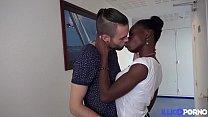 Jaina 22 ans black sexy se fait baiser par son mec