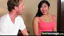 Gorgeous Skinny gets a massage 10 pornhub video