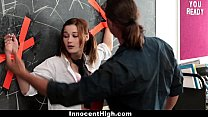 InnocentHigh - Tied up School Girl Likes Older ...