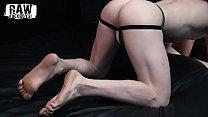 RawFuckBoys - Muscle Hunk fucks newbie member of private sex club bareback