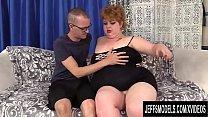 Fat Redhead Velma Voodoo Blows and Fucks a Skin...