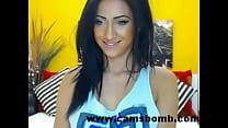 Webcam Brunette Live Show - www.camsbomb.com pornhub video