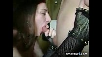 Goth Girl From Russia Sucks On A Cock