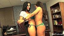 Lesbian Office Sluts With Carpri Cavani thumbnail