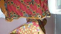 Cum on wife's lungi Textile batik motif AYU 680