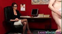 Office cfnm boss in specs pornhub video