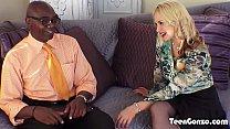 TEENGONZO Busty blde Sarah Vandella takes f BBC in pussy - 9Club.Top