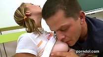 Ravishing kitten gets seduced and poked by her guy