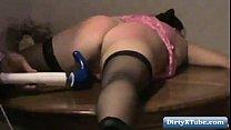 Homemade Slave Girlfriend handcuffed HD Thumbnail