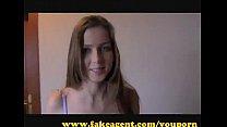 yami xxx ⁃ Fakeagent Innocent Teen Takes First Time Creampie thumbnail
