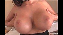 Busty Brunette Takes A Black cock thumbnail