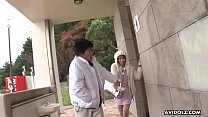 Free download video bokep Hot Japanese brunette, Sae Sakamoto is a frisky, blowjob queen