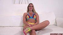 Sexy blde Khloe Kari likes big thick dick - 9Club.Top