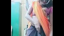 Swathi naidu sexy and romantic seducing in orange saree - download porn videos