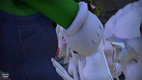 「Naughty Ghost Princess」by lovemax [MMD R18 Booette] صورة