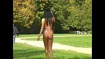 string bikini in the park Preview