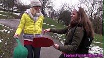 Dutch lesbian toying vag Thumbnail