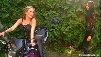Rachel Evans Piss Pounding Biker Babe Lesbos
