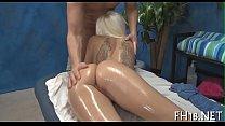 Exposed oil massage