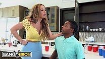 BANGBROS - Stepmom Richelle Ryan Punishes Her Young Black Step Son Xavier Miller