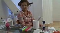 Old doctor exploits cute innocent teen