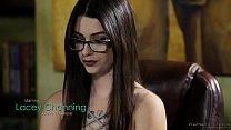 Amazing sex massage - Lacey Channing and Brad K...