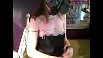 gas mask girl bate