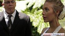 Sexy blde bride Nicole Anist fucking - 9Club.Top