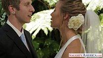 Sexy blonde bride Nicole Aniston fucking thumbnail