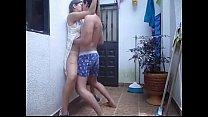 mexicana en azotea pornhub video
