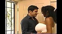 Massive tits ebony fucked on couch pornhub video