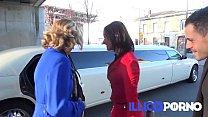 Emma baise en limousine ! FULL video - Illico p...