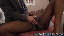 Pregnant ebony fetish ho
