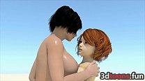 3D Babes Cum Bonanza Sex