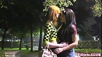 Redhead transgender assfucking smalltit tgirl