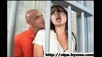 Brazen lawyer sucking off a nasty prisoner