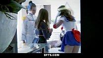 BFFS - Hot Cosplay Sluts Fucked thumbnail