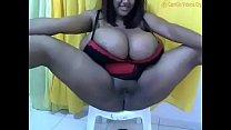 Screenshot Kristina Milan Webcam Bbw