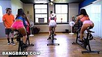 BANGBROS - Curvy Latina Rose Monroe Fucked in Spin Class by Brick Danger thumbnail