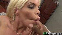 Hot blonde takes big black cock Jordan Blue 3