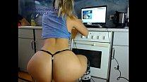 babe sexydea flashing ass on live webcam