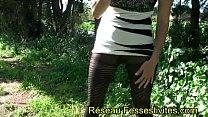 Pantyhose gros pipi sans culotte dans ses collants pornhub video