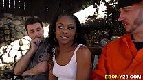 black girls white guys porn
