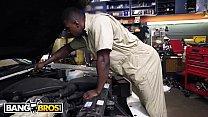 BANGBROS - Young Jade Jantzen Craves The Mechanic's Big Black Dick