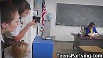 Teen Besties in After School Detention!