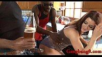 Kinky Cici Rhodes double stuffed by massive black cocks pornhub video