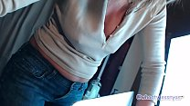 Mom Shows Off Ass In Blue Jeans and MoRE - 9Club.Top