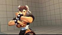 Street Fighter : Chun-Li Hairy Pussy Big Tits