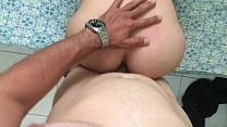 Namoradinha transex no anal com o namorado